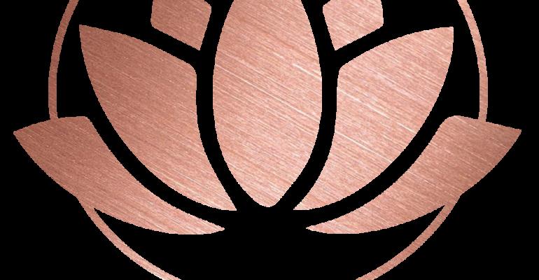 Lotus Logo Rose gold lg